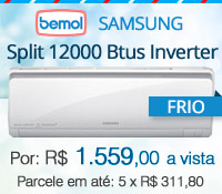 Bemol - Split 12000 Frio Inverter - Samsung