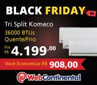 Web Continental - MultiSplit 3x 12000 Quente / Frio - Komeco
