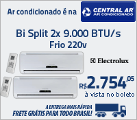 Central Ar - Multi Split Bi 9000 Frio - Electrolux