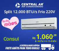 Central Ar - Split 12000 Frio - Consul