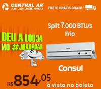 Central Ar - Split 7000 Frio - Consul