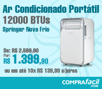 CompraFacil - Ar Condicionado Portatil 12000 Frio- Springer