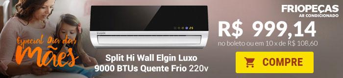 Frio pecas - Split 9000 Quente / Frio - Elgin