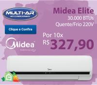 Multi-Ar - Split 30000 Quente / Frio - Midea