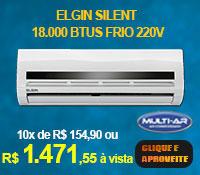 Multi-Ar - Split 18000 Frio - Elgin