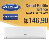 Multi-Ar - Split 12000 Frio - Consul