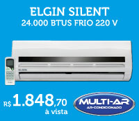 Multi-Ar - Split 24000 Frio - Elgin