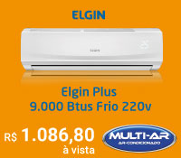 Multi-Ar - Split 9000 Frio - Elgin