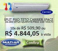 Multi-Ar - Piso Teto 36000 Quente / Frio - Carrier