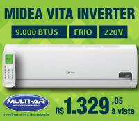 Multi-Ar - Split 9000 Frio Inverter - Midea