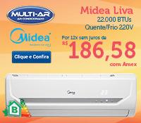 Multi-Ar - Split 22000 Quente / Frio - Midea