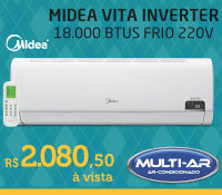 Multi-Ar - Split 18000 Frio Inverter - Midea