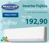 Multi-Ar - Split 9000 Frio Inverter - Fujitsu