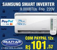 Multi-Ar - Split 9000 Frio Inverter - Samsung