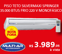 Multi-Ar - Piso Teto 35000 Frio - Springer