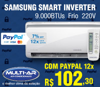 Multi-Ar - Split 9000 Frio Inverter - Samsung