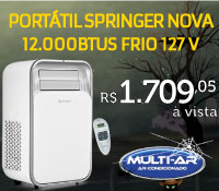 Multi-Ar - Ar Portatil 12000 Frio - Springer