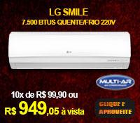 Multi-Ar - Split 7500 Quente / Frio - LG