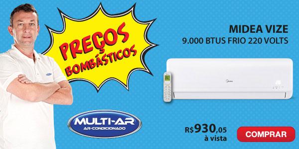 Multi-Ar - Split 18000 Frio - Midea