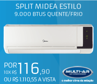 MultiAr - Split 9000 Frio - Midea