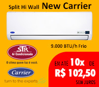 Str Ar Condicionado - Split 9000 Frio - Carrier
