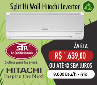 Str Ar Condicionado - Split 9000 Frio Inverter - Hitachi