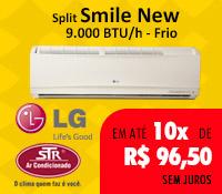 Str Ar Condicionado - Split 9000 Frio - LG