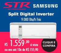 Str Ar Condicionado - Split 9000 Frio Inverter - Samsung