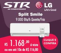 Str Ar Condicionado - Split 9000 Quente / Frio - LG