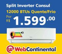 Web Continental - Split 12000 Quente / Frio Inverter - Consul