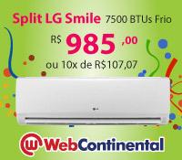 Web Continental - Split 7500 Frio - LG