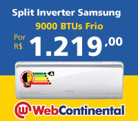 Web Continental - Split 9000 Frio Inverter - Samsung