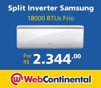 Web Continental - Split18000 Frio - Samsung