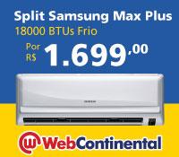 Web Continental - Split 18000 Frio - Samsung