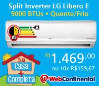 Web Continental - Split 9000 Quente / Frio Inverter - LG