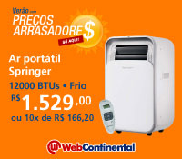 Web Continental - Ar Portatil 12000 Frio - Springer