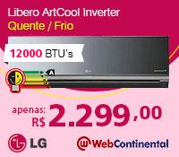 Web Continental - Split 12000 Quente / Frio Inverter - LG