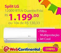 Web Continental - Split 12000 Quente / Frio - LG