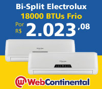 Web Continental - Multi Split Bi 18000 Frio - Electrolux