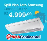 Web Continental - Split Piso Teto 58000 Frio - Samsung
