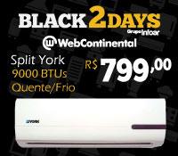 Web Continental - Split 9000 Quente / Frio - York