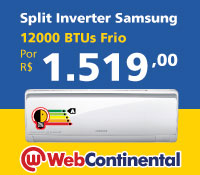Web Continental - Split 12000 Frio Inverter - Samsung