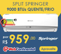 Web Continental -Split 9000 Quente / Frio - Springer