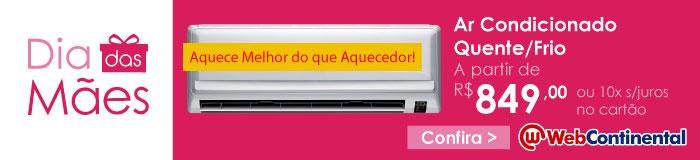 Web Continental - Ar Condicionado Quente / Frio